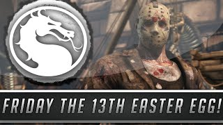 Mortal Kombat X: Jason Voorhees Easter Egg - New Friday the 13th Reference! (Mortal Kombat 10)