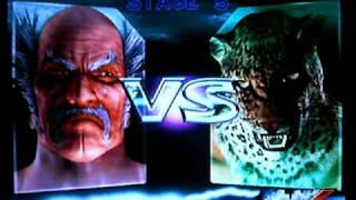 Tekken 4 - Heihachi Ultra Hard Story Battle Playthrough