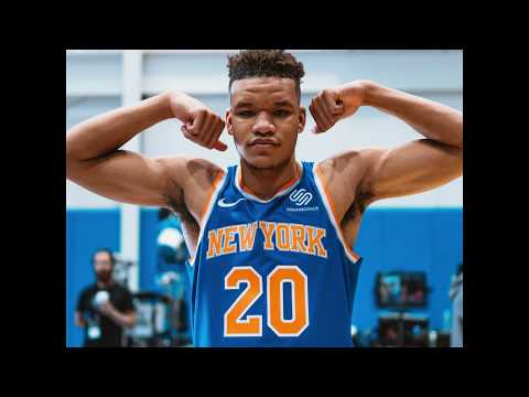 Behind The Scenes with Kevin Knox | NBA Rookie Shoot | New York Knicks