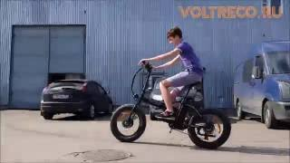 видео Электровелосипед Bigcat Dual