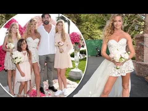 denise richards marries aaron phypers the wedding