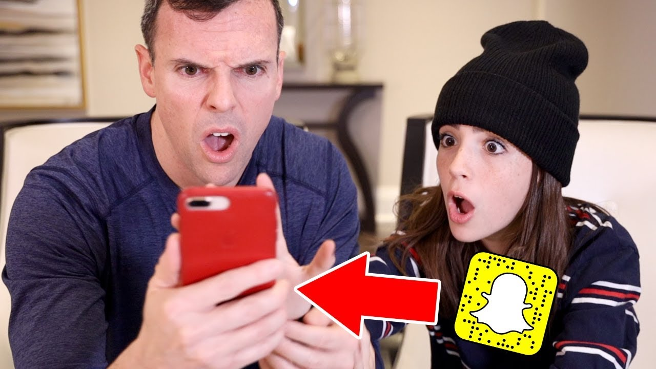 DAD FOUND MY SECRET SNAPCHAT ACCOUNT!! image