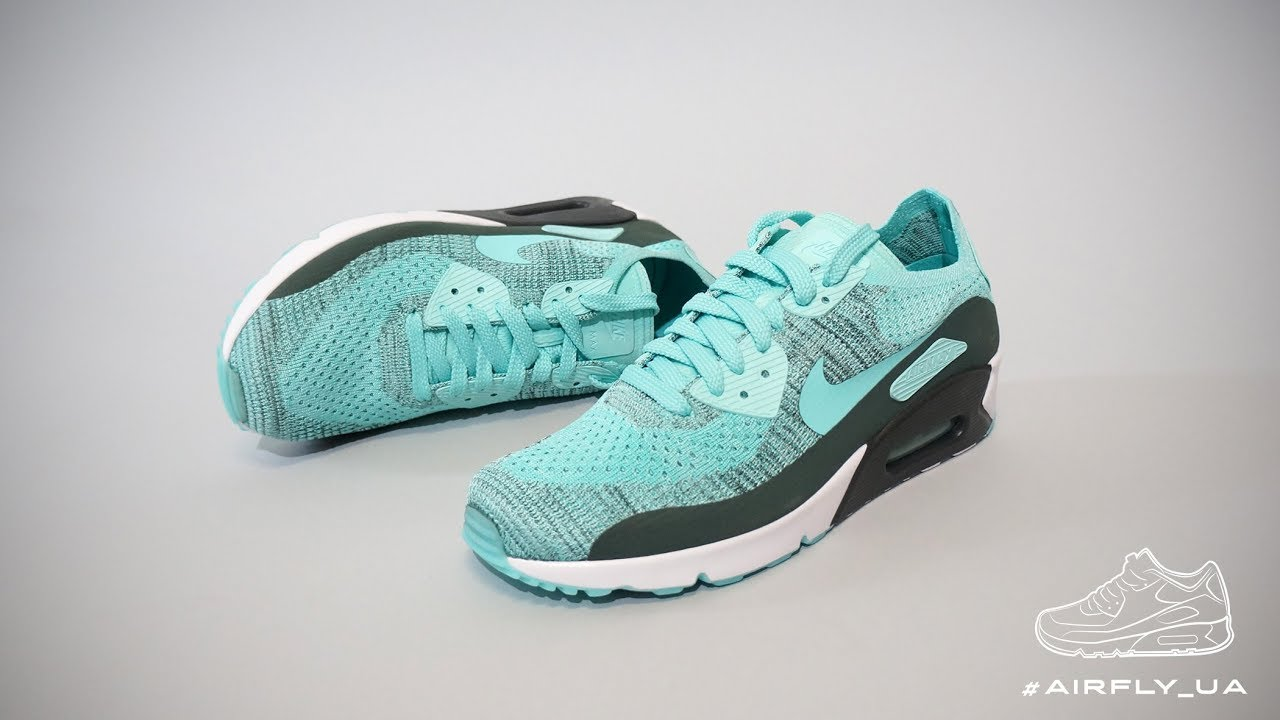 Air Max 90 Ultra 2.0 Flyknit 'Hyper Turquoise'