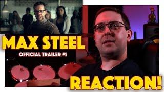 REACTION! Max Steel Official Trailer #1 - Superhero Movie 2016