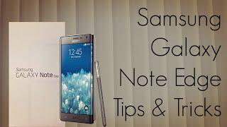 Samsung Galaxy Note Edge Tips & Tricks / FAQ & Useful Options - PhoneRadar