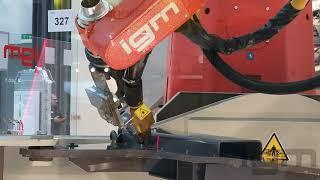 igm Robotersysteme AG auf der Messe SCHWEISSEN Linz 2019