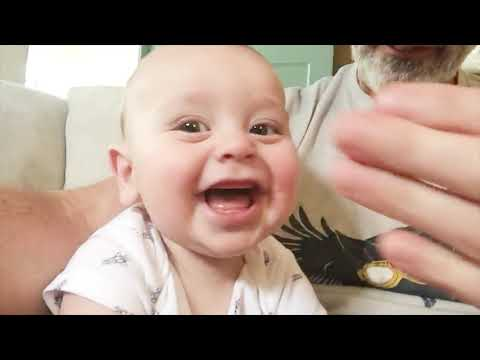 10 Minutes Of Cute Babies And Dad - Funny Babies Video