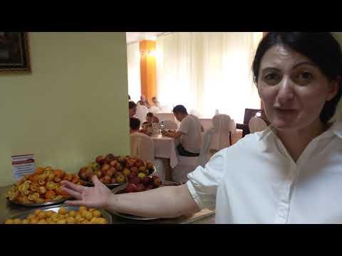 Шведский стол. Пансионат Сосновая роща. Абхазия