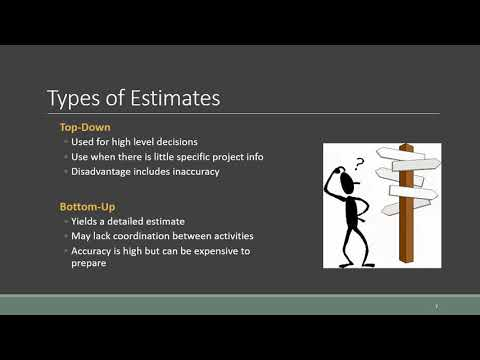 Chapter 5 Estimating Costs A