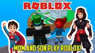 Roblox: MOM AND SON PLAY NATURAL DISASTERS