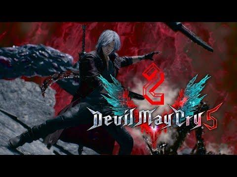 "DEVIL MAY CRY 5  ИДЕМ НА СЛОЖНОСТЬ ""АД И АД""  PS4 PRO  Стрим # 2"