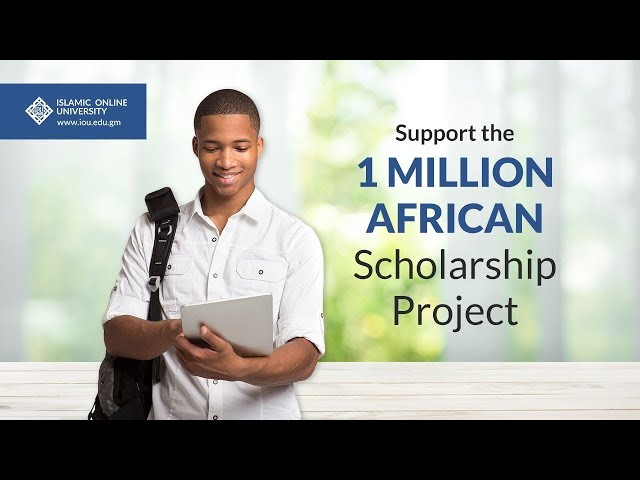 Support the 1 Million African Scholarship Project