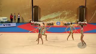 Austria (AUT) - 2018 Rhythmic Worlds, Sofia (BUL) - Qualifications 5 Hoops
