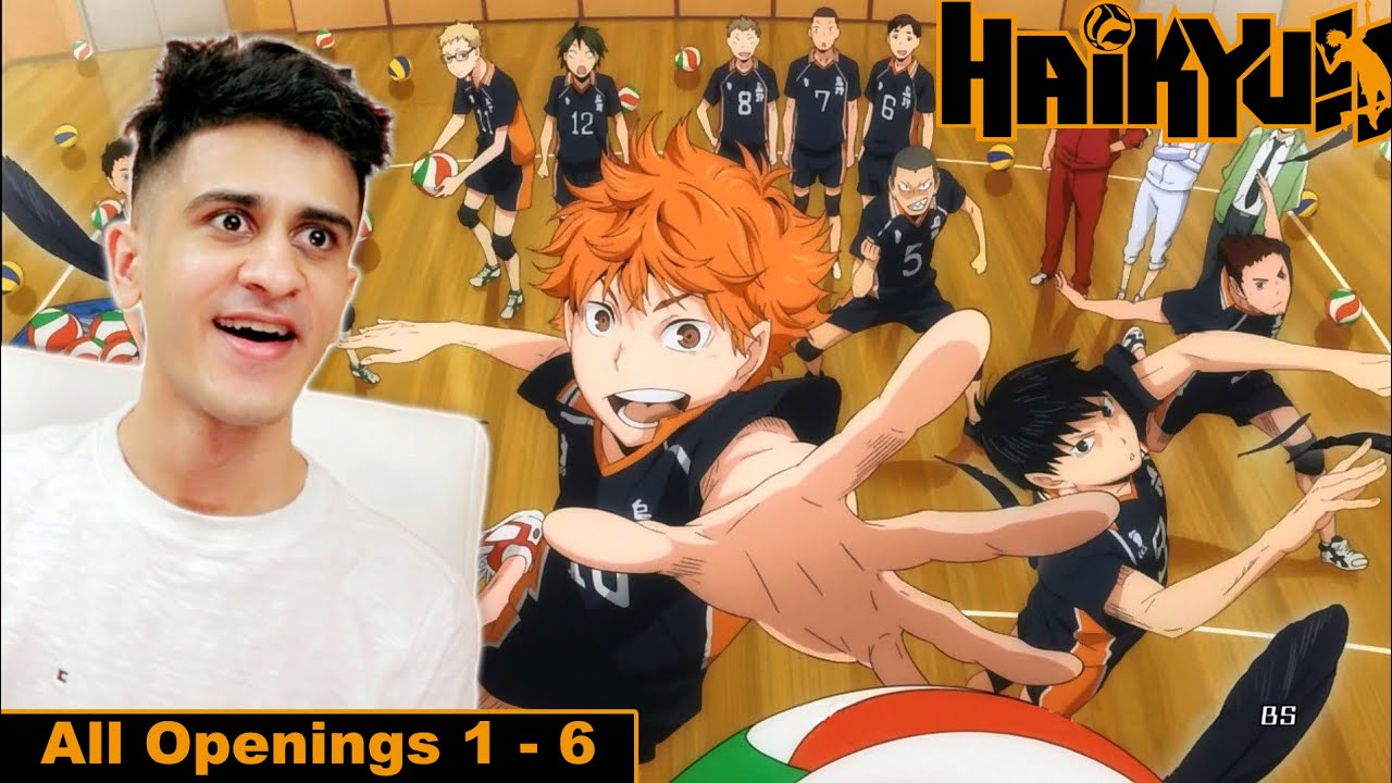 HAIKYUU!! All Openings 1-6 REACTION