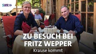 Zu Besuch bei Fritz Wepper   SWR Krause kommt