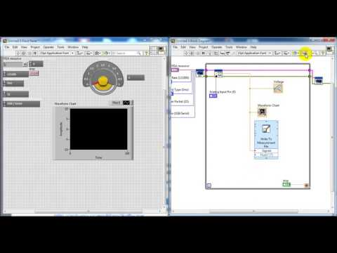 arduino data acquisition sensor with labview