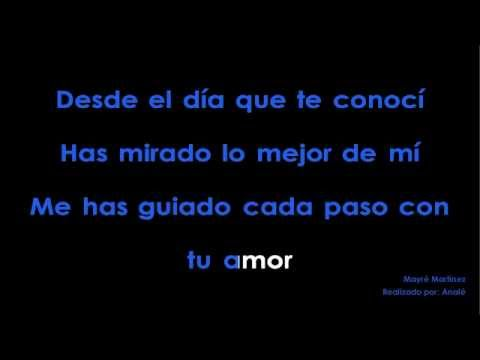 Mayré Martínez - Tu Amor KARAOKE