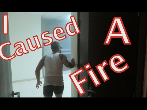 I LITERALLY CAUSED A FIRE!