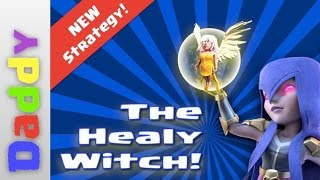 Clash Of Clans | NEW STRATEGY The Healy-Witch, GO GIRL POWER!!!!