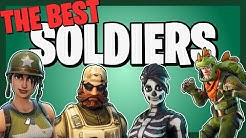 The BEST SOLDIERS in Fortnite Save the World!