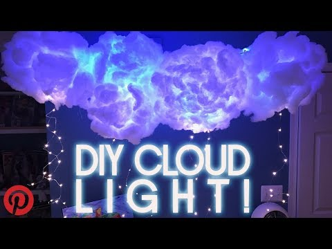 DIY Clouds Lamp!Pinterest Nailed It or Failed It?!