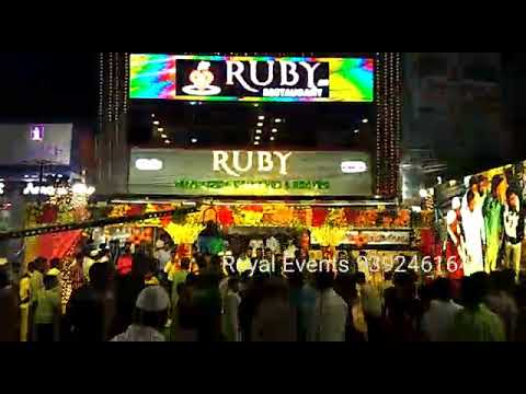 Live Grand Inauguration Ruby A/C Restaurant