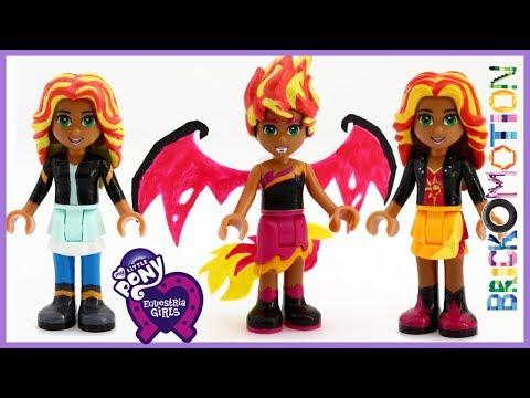 LEGO Sunset Shimmer - My Little Pony Equestria Girls Dollify