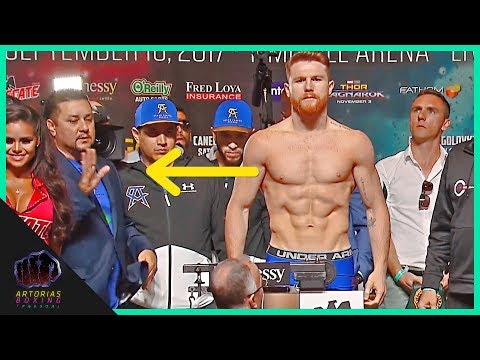 #CaneloGGG2 Did Canelo Alvarez cheat in the Weigh In? (Canelo vs Golovkin)