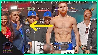 Did Canelo Alvarez cheat in the Weigh In? #CaneloGGG2