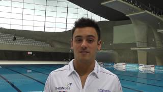 A short message from Olympic bronze medallist Tom Daley