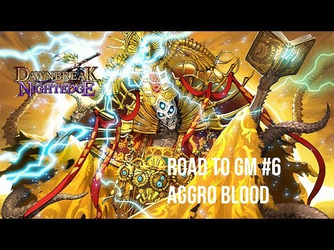 Road to GM #6: Hitting Face with Je Ne Sais Quoi - Aggro Blood | Shadowverse