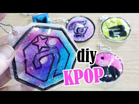 DIY KPOP Liquid Glitter Keychains | BTS | GOT7 | BLACKPINK |  BIGBANG