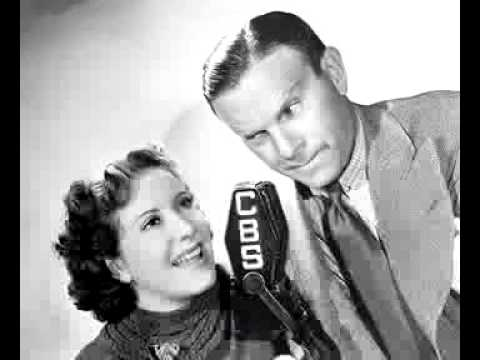 Burns and Allen radio show 1/15/45 Alan Ladd Making George Jealous