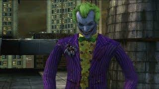 Batman: Arkham City Lockdown - Live Action The Joker Boss Fight Gameplay Video