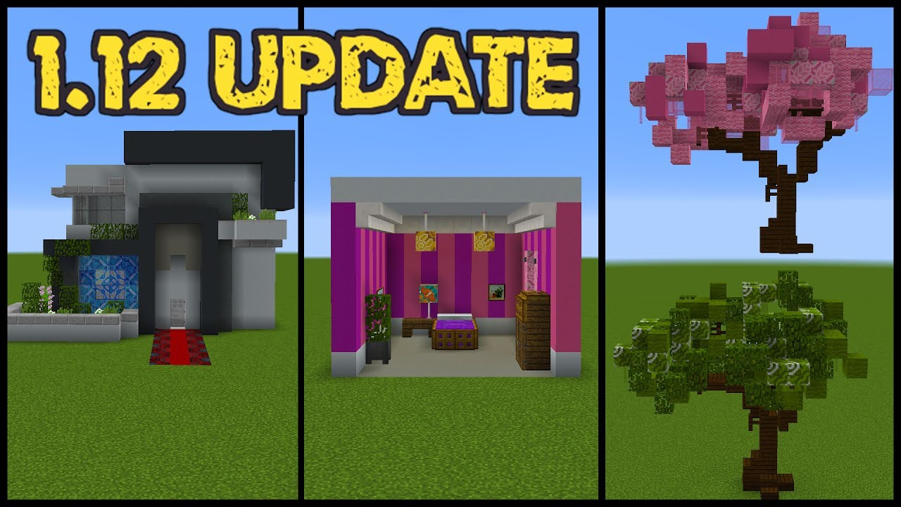 Minecraft update building tricks and tips youtube for Construction tips and tricks