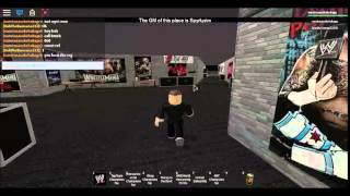 roblox wwe 2k15 roleplay with spookycomup part 1