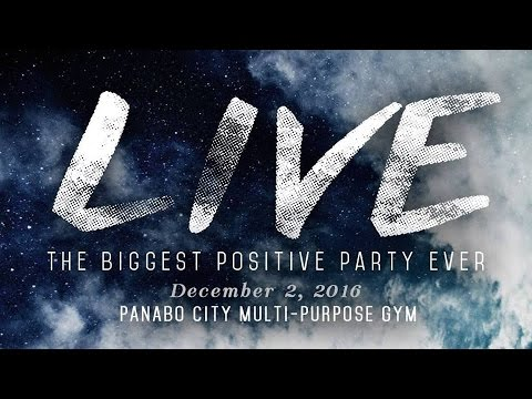 "Biggest Positive Party Ever 2016 ""LIVE"" Praise and Worship  at Panabo Multi-purpose Gym."