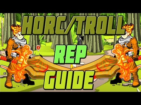 AQW How to Get Horc/Troll Rep FAST