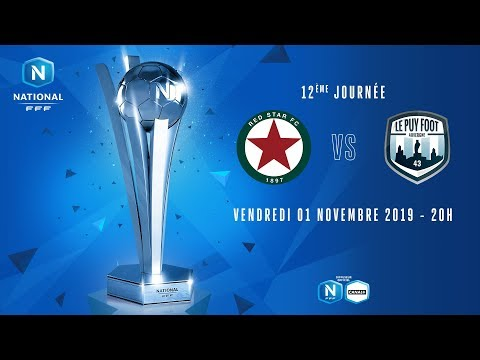 12e journée : Red Star - Le Puy Foot I National FFF 2019-2020