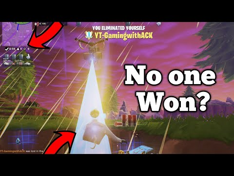 What Happens When No One Wins In THE GETAWAY LTM In FORTNITE MOBILE