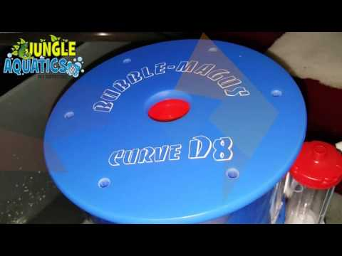 Testing Bubble Magus Curved D8 DC Protein Skimmer Performance