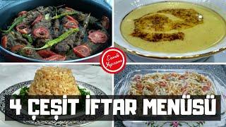 Ramazan Tarifleri İftar Menüsü-Bugün Ne Pişirsem #iftar