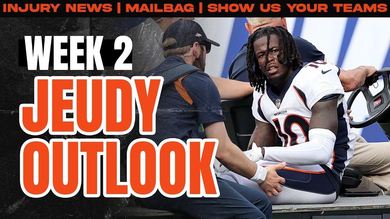 Fantasy Football 2021 - Week 2 Injury Updates / Show Us Your Teams/Mailbag - Fantasy Football Advice