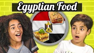KIDS EAT EGYPTIAN FOOD | Kids Vs. Food