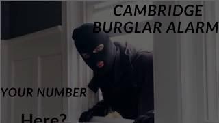 Burglar Alarm Companies Cambridge | Home Security Burglar Alarms