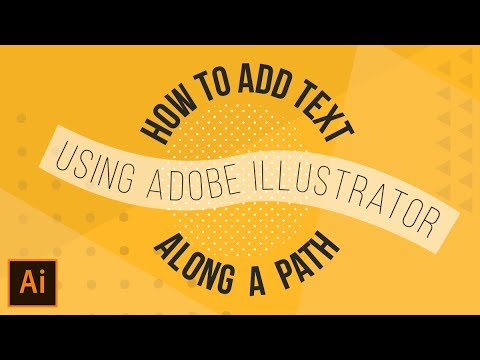 How To: Type On A Path Using Adobe Illustrator thumbnail