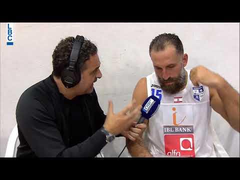Alfa Basketball Championship - Champville v Sagesse - Post Game Fadi El Khatib