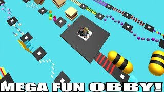 Roblox: MEGA FUN OBBY!! - (300-400 STAGES)
