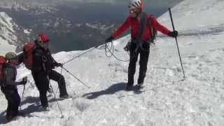 Hub au sommet (3/4) - Ascension Mont Blanc par les 3 Monts (2011)
