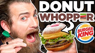 International Burger King Taste Test